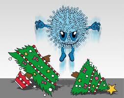 christmas; flu