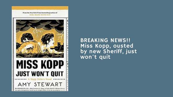 blog book review of Miss Kopp