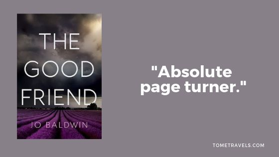 blog book review of The good friend
